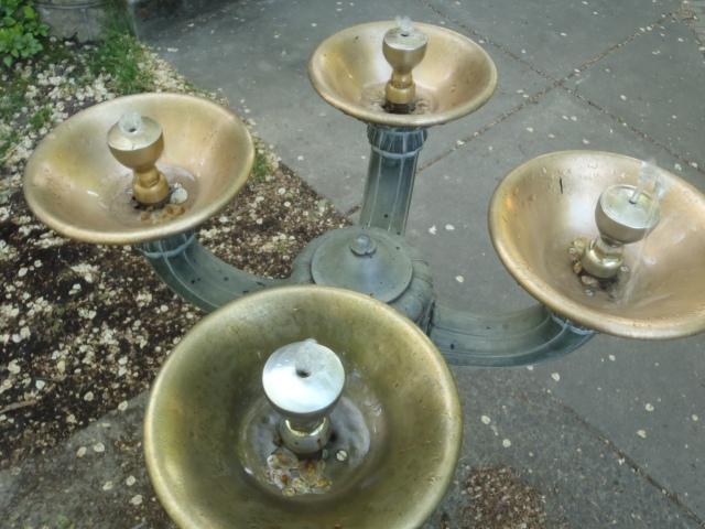 Benson Bubblers; the water fountains of Portland.  Excellent fresh water!